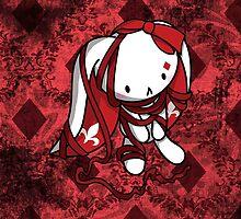 Princess of Diamonds White Rabbit by fushiginaringo