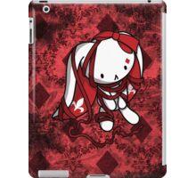 Princess of Diamonds White Rabbit iPad Case/Skin