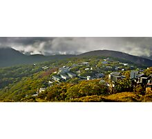 Morning in the Village, Mt Buller Photographic Print