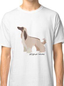 Afghan hound Classic T-Shirt