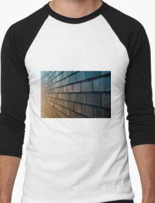 Colourful Brick Men's Baseball ¾ T-Shirt