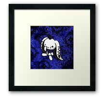 Princess of Spades White Rabbit Framed Print