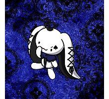 Princess of Spades White Rabbit Photographic Print