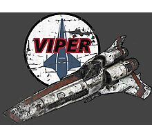 Battlestar Galactica - Viper Photographic Print