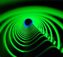 Green Vortex by Heather Brink