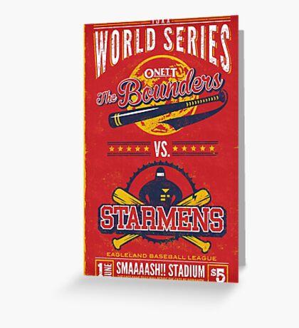 World Series 19XX Greeting Card