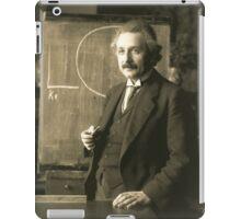 Albert Einstein - Chalkboard iPad Case/Skin
