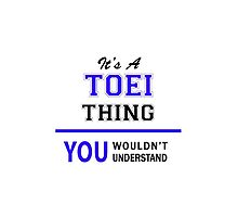 It's a TOEI thing, you wouldn't understand !! by allnames