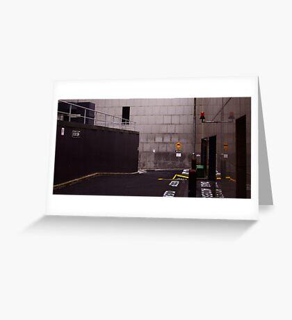 Signage v.1: One Way Greeting Card