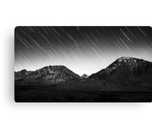 The Sierra Stars Canvas Print