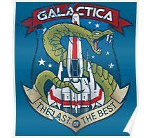 Battlestar Galactica - Viper - The last of the best Poster