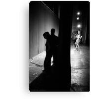 Tango in Black Canvas Print