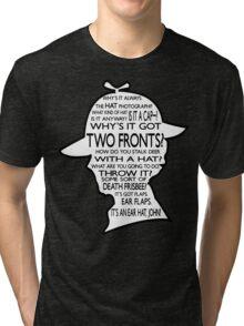 Sherlock's Hat Rant - Dark Tri-blend T-Shirt