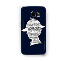 Sherlock's Hat Rant - Dark Samsung Galaxy Case/Skin