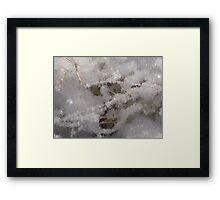Whiteness of Snow!! Framed Print