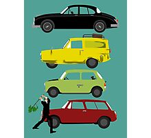 The Car's The Star: Britcoms Photographic Print