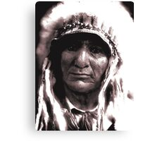 The Proud Chief Canvas Print