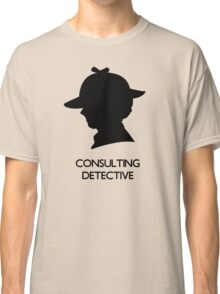 Consulting Detective Sherlock Shirt - Light Classic T-Shirt