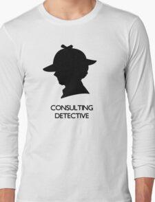 Consulting Detective Sherlock Shirt - Light Long Sleeve T-Shirt