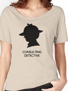 Consulting Detective Sherlock Shirt - Light Women's Relaxed Fit T-Shirt