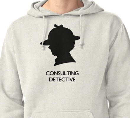 Consulting Detective Sherlock Shirt - Light Pullover Hoodie