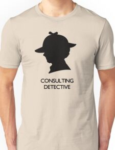 Consulting Detective Sherlock Shirt - Light Unisex T-Shirt