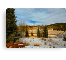 Crisp Winter Day Canvas Print