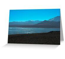 Mono Lake and Sierra Nevada Greeting Card