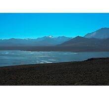 Mono Lake and Sierra Nevada Photographic Print