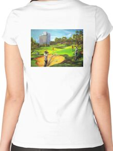 Royal Pines Golf  Women's Fitted Scoop T-Shirt
