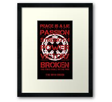 The Sith Creed Framed Print