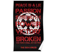 The Sith Creed Poster