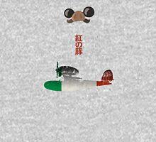 Ghibli Minimalist 'Porco Rosso' Unisex T-Shirt