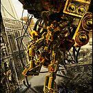 Biohazard Robot by Evan F.E. Lole