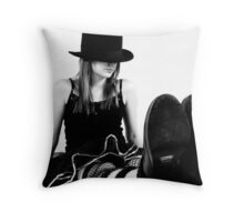 Top Hat 5 Throw Pillow