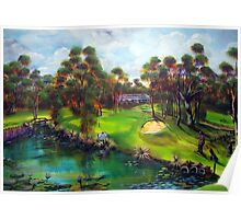 Agnes Water Golf Course - the drinkin' hole Poster