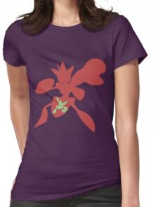 The Bug with Swords Womens Fitted T-Shirt