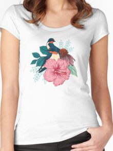 Barn Swallows Women's Fitted Scoop T-Shirt