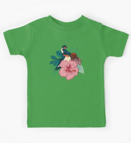 Barn Swallows Kids Tee