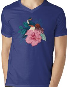 Barn Swallows Mens V-Neck T-Shirt