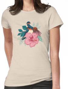 Barn Swallows Womens Fitted T-Shirt
