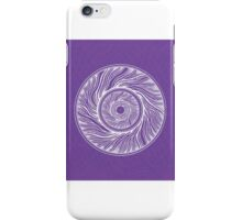 Swirly fracture iPhone Case/Skin