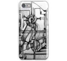 Drawing Study for a Sculpture. iPhone Case/Skin