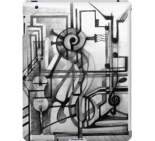 Drawing Study for a Sculpture. iPad Case/Skin