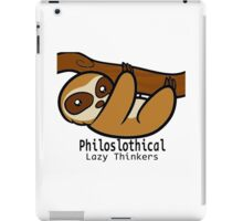 Philoslothical iPad Case/Skin