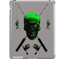 Fisherman's Skull and Rods iPad Case/Skin
