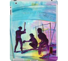 or something for the Baseball player/fan for Christmas? iPad Case/Skin