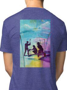 or something for the Baseball player/fan for Christmas? Tri-blend T-Shirt