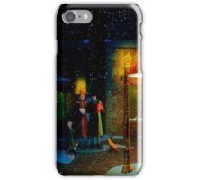 Old Town Christmas Eve iPhone Case/Skin