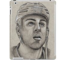 Gregory Campbell - Boston Bruins Hockey Portrait iPad Case/Skin